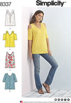 Knit Tops with Bodice and Sleeve Variations