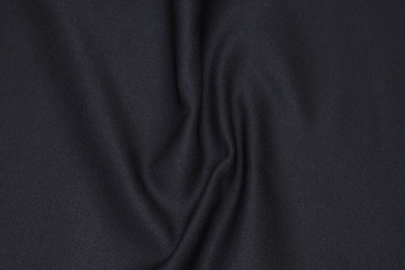 Black roughly-woven furniture fabric