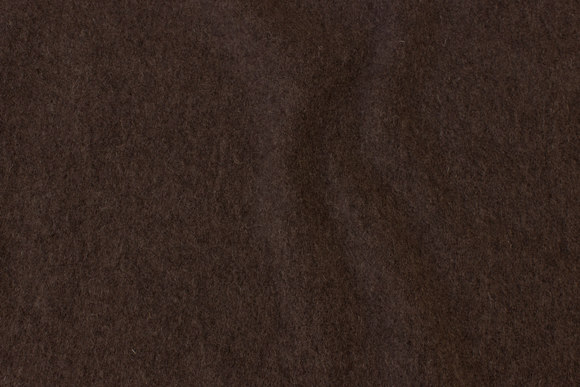 Brown felt wool