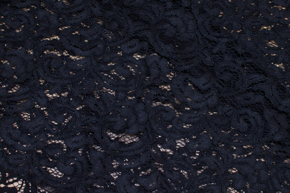 Charcoal dress-lace-fabric