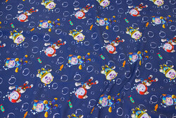 Navy cotton-jersey with space Paw Patrols