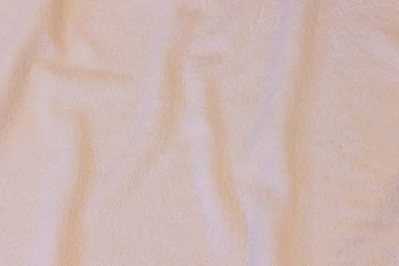 White double woven terry cloth