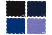 Texgard coated fabric for awnings, black, navy, cobolt,.