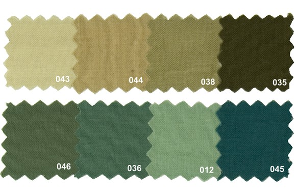 Sanfor cotton in natural colors