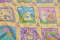 Patchwrok cotton fabric with easter pattern.