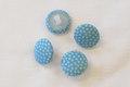 Dot buttons in light blue