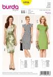 Dress, interesting seam lines
