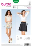 Skirt, section seams