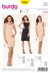 Burda 6964. Lingerie, Slip dress, Shirt, Jupon.