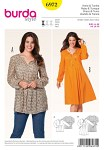 Burda 6972. Dress, Tunic.