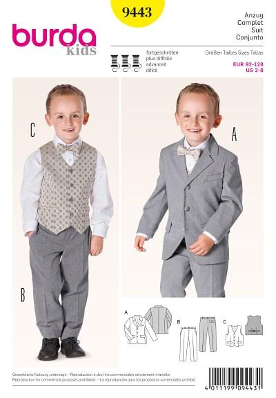 Suit with Vest