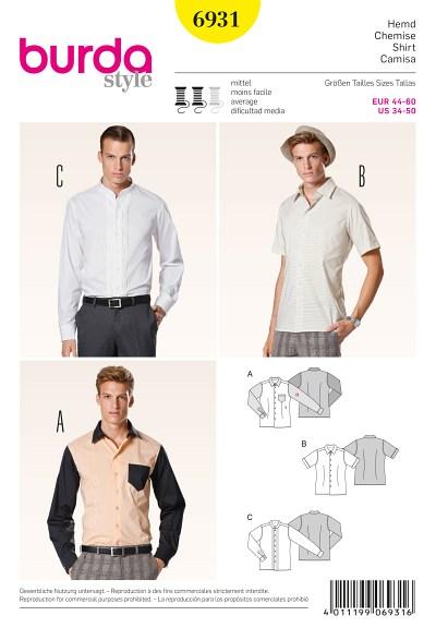 Men´s shirt, tucks