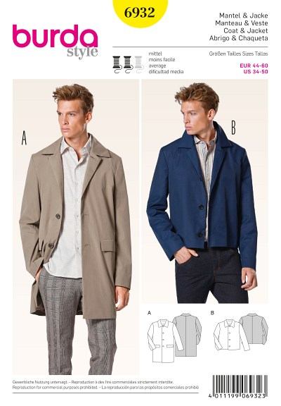 Coat, Jacket, classic design