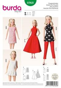 Doll clothes. Burda 6960.