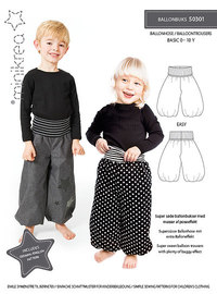 Balloon trousers. Minikrea 50301.