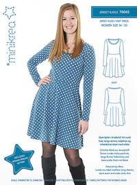 Jersey dress. Minikrea 70045.