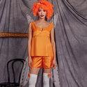 Clown-angel costume