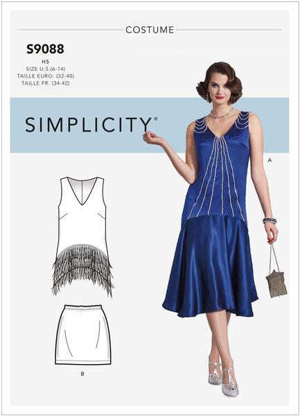 1920er Charlston dress