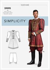 Prince costume. Simplicity 9095.
