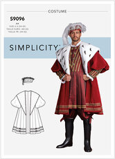 King costume. Simplicity 9096.