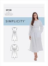 Dress. Simplicity 9138.