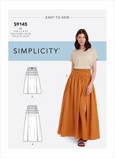 Skirt. Simplicity 9145.