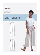 Pull-On Pants. Simplicity 9146.