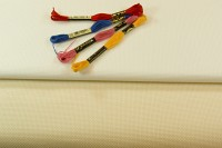 Aida embroidery fabric 4.4 threads pr. cm.