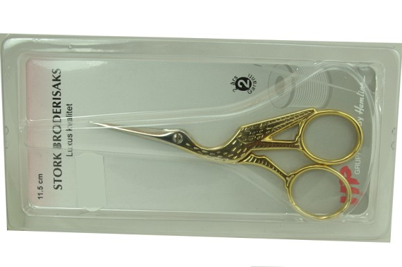 Large embroidery scissors