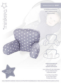 Stroller pillow. Minikrea 90901.