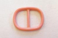 Pink belt buckle, belt-width 3 cm