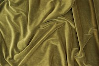 Stretch velvet dark olive