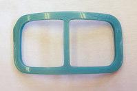 Turqoise belt buckle, belt width 4.5 cm