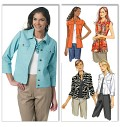 Butterick 5616. Jackets and tops.