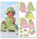 Infants Dress, Jumper, Romper, Jumpsuit, Panties, Hat and Bag