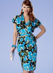 Butterick 6354. Petite Bolero, Bustier, Sarong and Shorts.