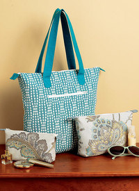 Butterick pattern: Tote Bags and Cosmetic Pouches