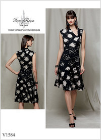 Vogue pattern: Dress - Tracy Reese