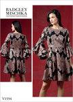 Vogue 1594. Dress - Badgley Mischka.