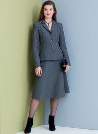 Vogue 9336. Petite Jacket, Skirt and Pants.