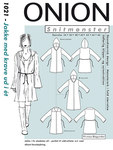 Onion 1021. Jacket with one-piece collar.