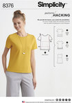 Knit Top with Multiple Pieces for Design Hacking