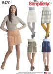 Skirts in Two Lengths with Pockets & Trim Variations