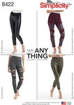 Knit Leggings with Front Varaitions