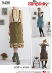 Jumper with Suspenders and Petticoat