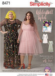Simplicity 8471. Asley Nell Tipton Women´s Dresses.