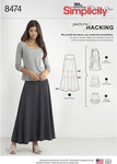 Knit Skirt with Options for Design Hacking