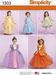 Simplicity 1303. Toddlers and ChildÂs Costumes.