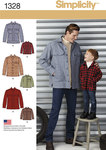 Boys´ and Men´s Shirt Jacket