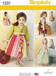 Toddlers´ Dress and Bolero
